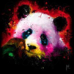 Sofa Paintings Abstract Lit Usage A Vendre Panda Pop Technique Mixte Sur Toile 100x100 Cm | Patrice ...
