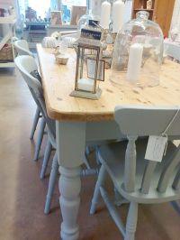 Best 25+ Painted farmhouse table ideas on Pinterest ...