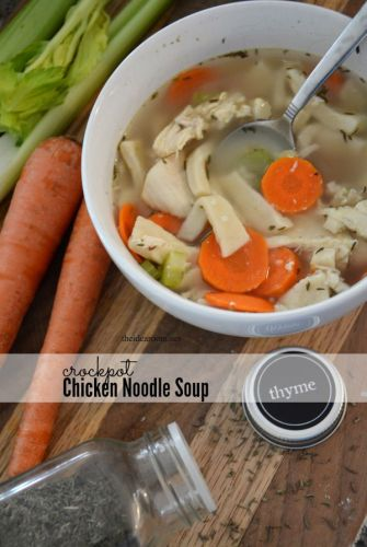 Crockpot Chicken Noodle Soup Recipe - The Idea Room: