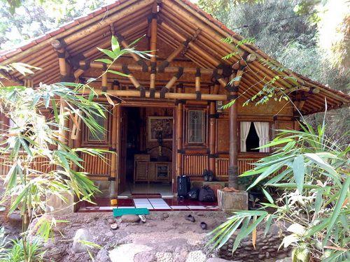 Simple Bamboo House Design Houses Pinterest Design Beams