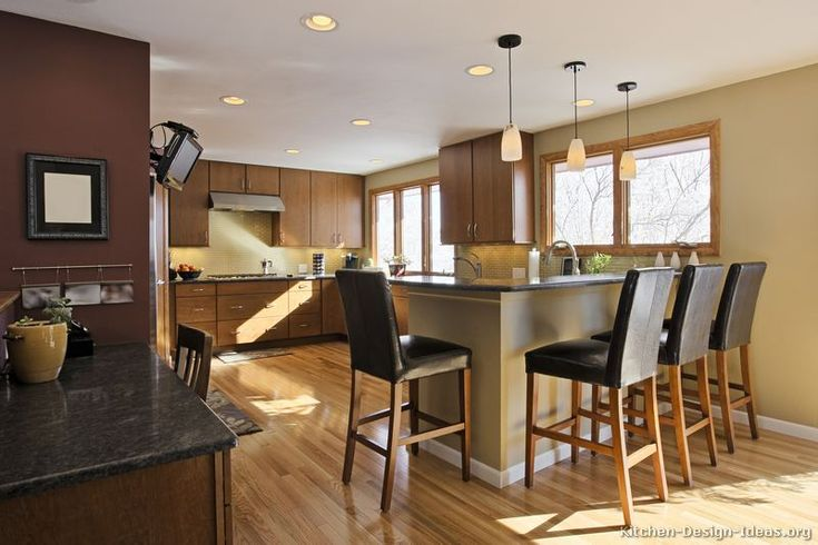 mirrored cabinets living room expensive rooms #kitchen of the day: naturally warm and inviting: modern ...
