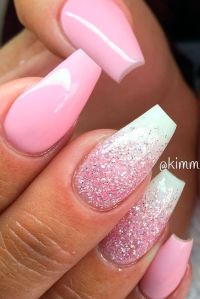 Best 25+ Pink nails ideas on Pinterest