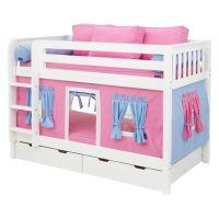 Hot Shot Girl Twin over Twin Tent Bunk Bed | Hot Shots ...