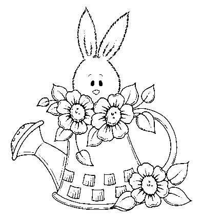 224 best images about Spring coloring pages on Pinterest