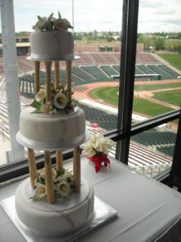 1000 ideas about Baseball Wedding Cakes on Pinterest  Opening day baseball Softball wedding