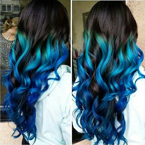25 Best Ideas About Blue Hair Dyes On Pinterest Crazy Hair
