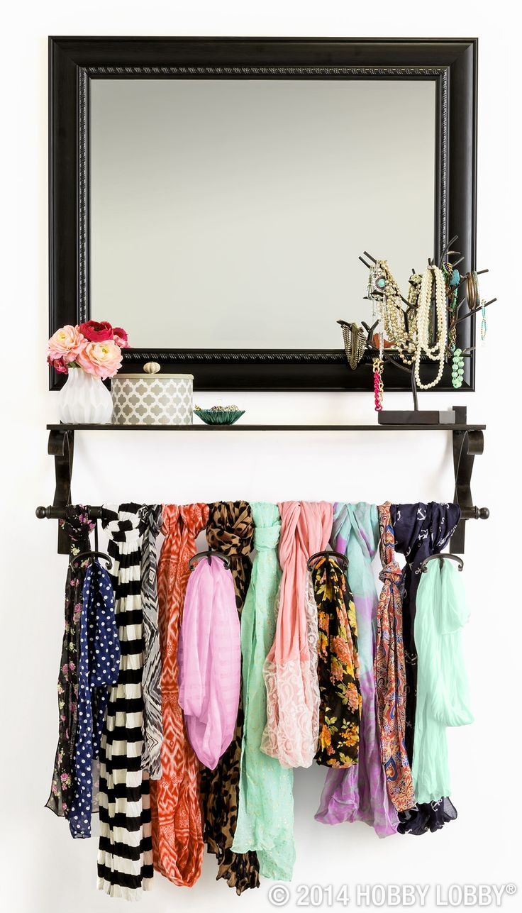 Best 20+ Scarf rack ideas on Pinterest