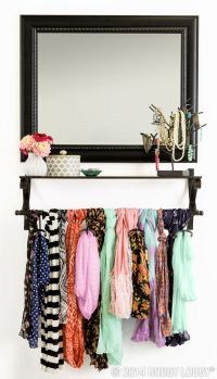 Best 20+ Scarf rack ideas on Pinterest
