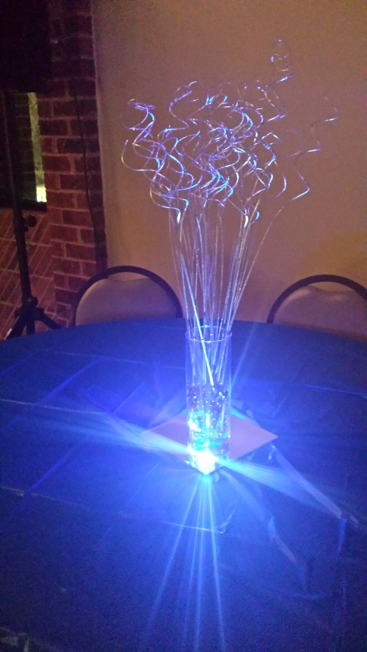 Denim  Pearls centerpieces AlexisRoseEventscom  Denim  Pearls Party  Pinterest  Pearls