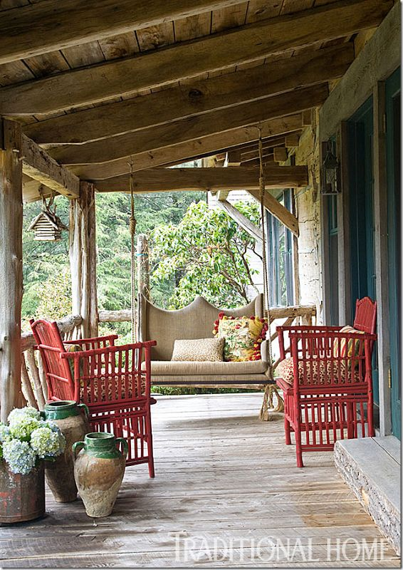 rattan patio chairs uk portable back support for office chair 25+ best ideas about cabin porches on pinterest | log cabins uk, garden and