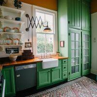 Best 20+ Green kitchen cabinets ideas on Pinterest   Green ...