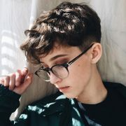 ideas tomboy hairstyles