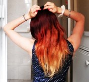 hair colors ombre pretty cool