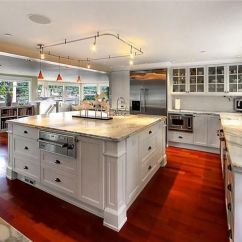 Viking Kitchens Banquette Kitchen Streamlined Gourmet W/marble Slab Counters ...
