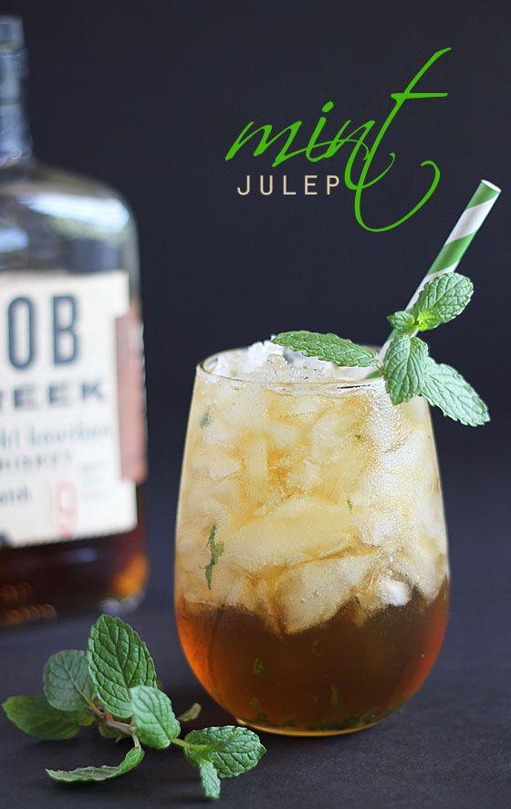 mint julep cocktail stevie healthy sugar-free
