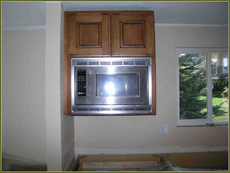 17 Best ideas about Microwave Cabinet on Pinterest