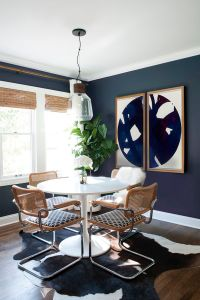 25+ best ideas about Navy dining rooms on Pinterest | Blue ...