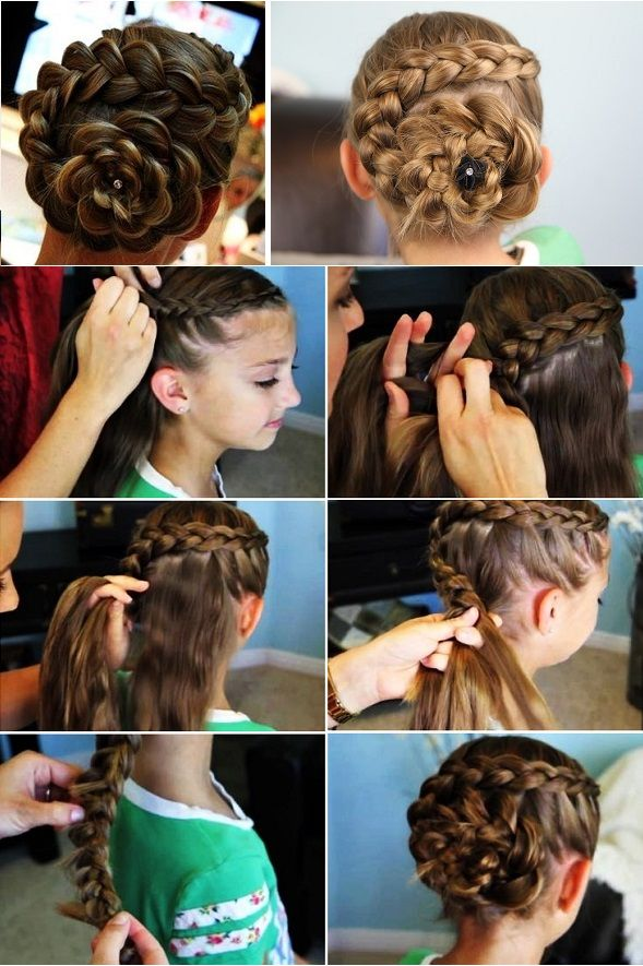 25 Best Ideas About Rose Braid On Pinterest Rose Hairstyle How