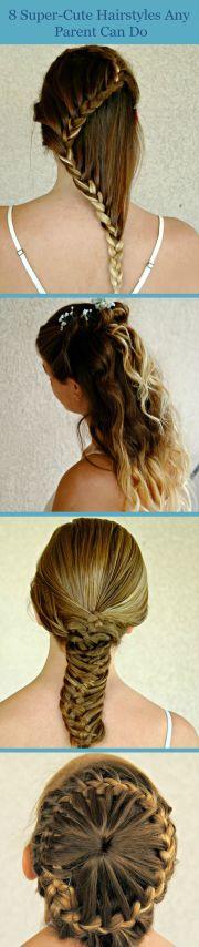 hairstyles easy kid