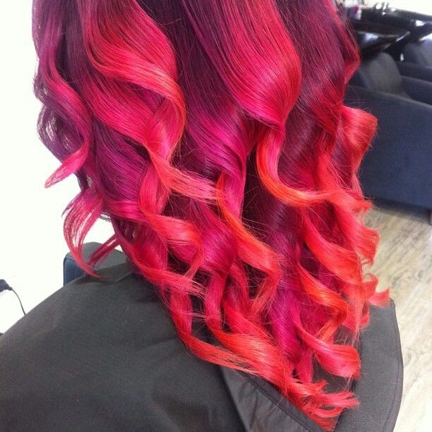 Bright Red Curly Hair | Hair | Pinterest | Curly Hair ...