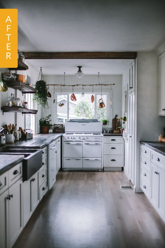 Before Amp After A 1930s Kitchen Gets A DIY Remodel Stove