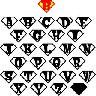 The Lady Wolf: Are you a Superhero? Letter Shields SVG