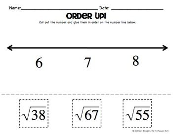17 Best images about Unit VIII. Real Number system on
