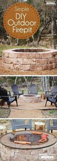 Best 25+ Outside fire pits ideas on Pinterest | Outdoor ...