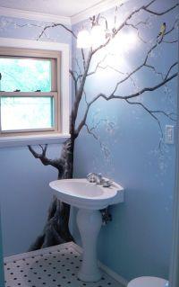 Sweet tree mural