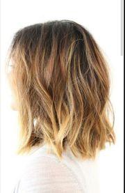 wavy medium length layered hairstyles
