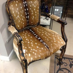 Duck Hunting Chair Beach Towel Clips For Chairs Deer $1,995 Axis Skin Chair. One Of A Kind! | Furniture Pinterest And