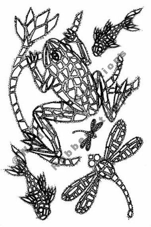 Wild Frog Creations Frog Rubber Stamps This would make