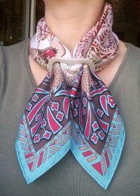 25+ best Scarf Rings ideas on Pinterest | Hermes scarves ...