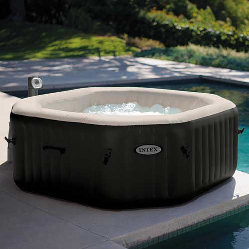 intex pure spa deluxue black bubbles jets inflatable hot tub you can buy