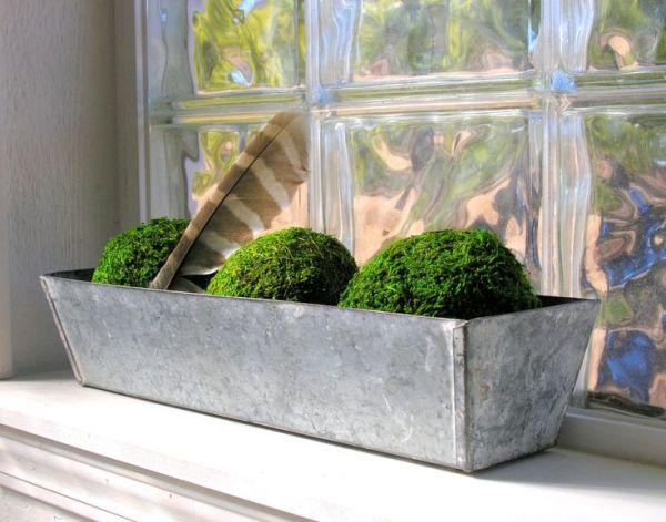 galvanized metal planter box window