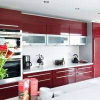 Best 20+ Red kitchen cabinets ideas on Pinterest | Red ...