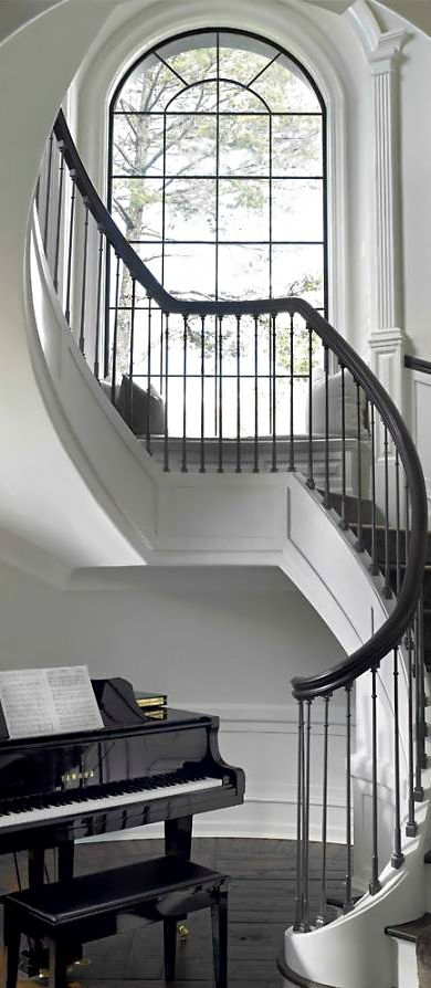 Amazing Staircase Entryway Wainscoting