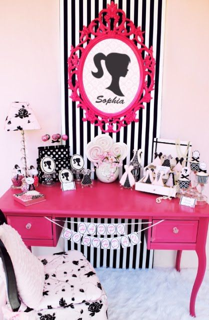 17 Best ideas about Barbie Room on Pinterest