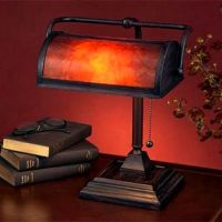 Mica Mission Craftsman Bankers Desk Lamp | For the Home ...