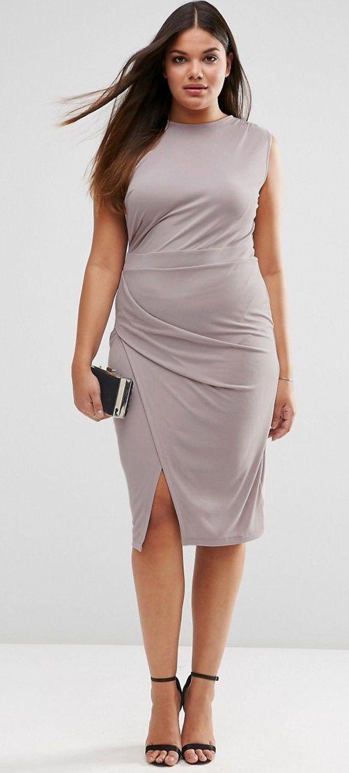 Suede Dresses Plus Size
