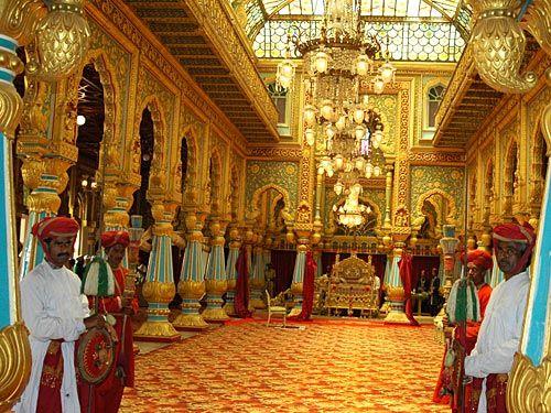 Mysore palace interior4  Most famous  beautiful Palaces