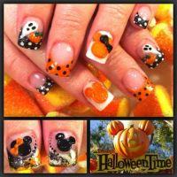 Disney Halloween | Disney Nail Art | Pinterest