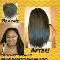 Kanekalon Crochet Braids! | Before & After Hair ...