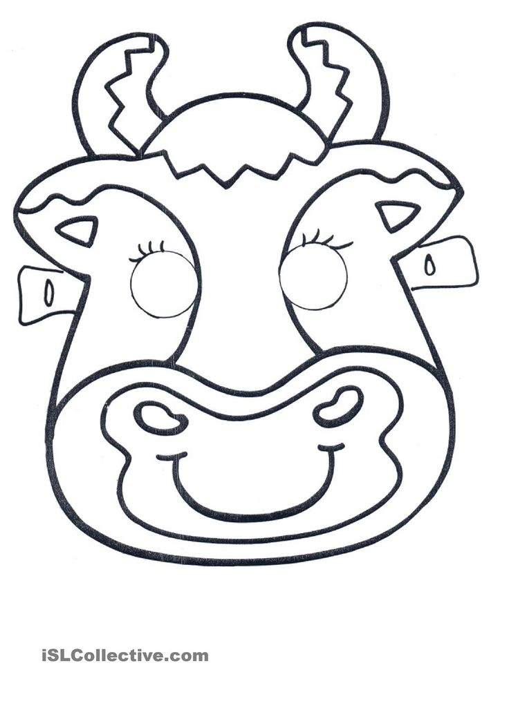 Click on the image to download and print this cute cow