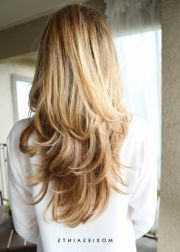 ideas blonde layered