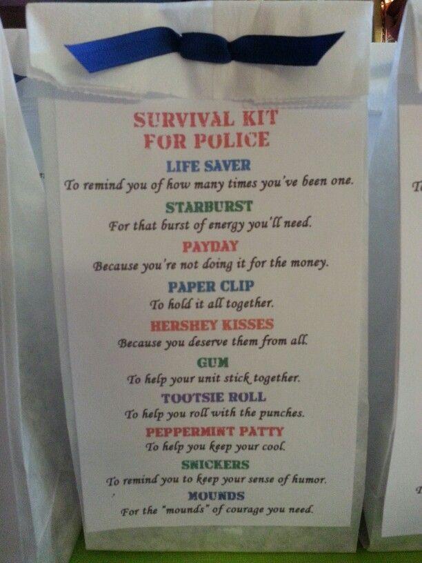 Survival Kit For Police If it werent for PinterestI