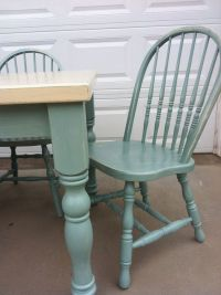 Annie Sloan Chalk Paint old ochre and duck egg blue ...