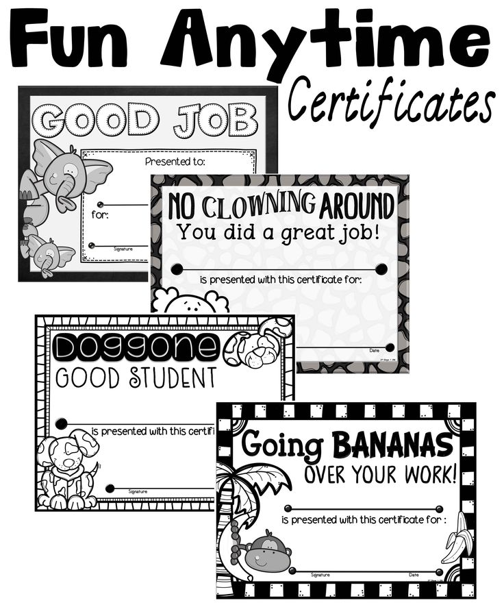 17 Best images about A Teacher in Paradise Certificates