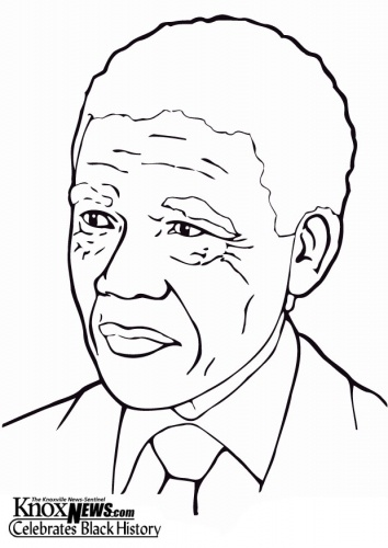 Nelson mandela, Nelson and Coloring pages on Pinterest