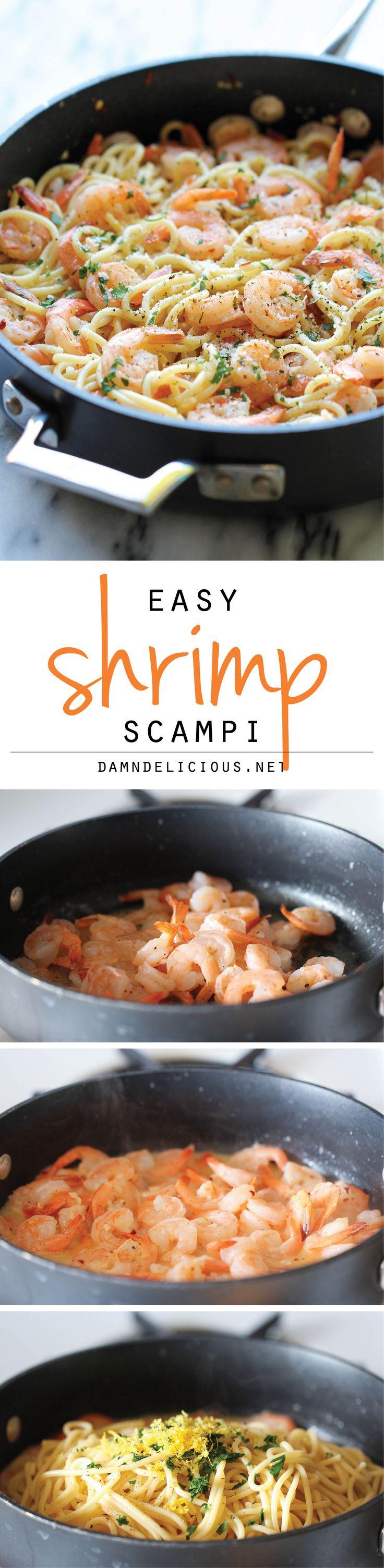 Shrimp Scampi – You wont believe ho